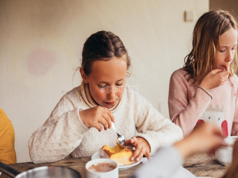 Snack in casa rurale