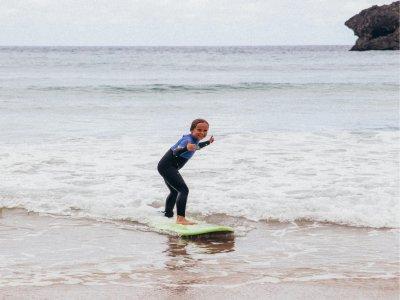 Surf camp con media pensión verano en Llanes