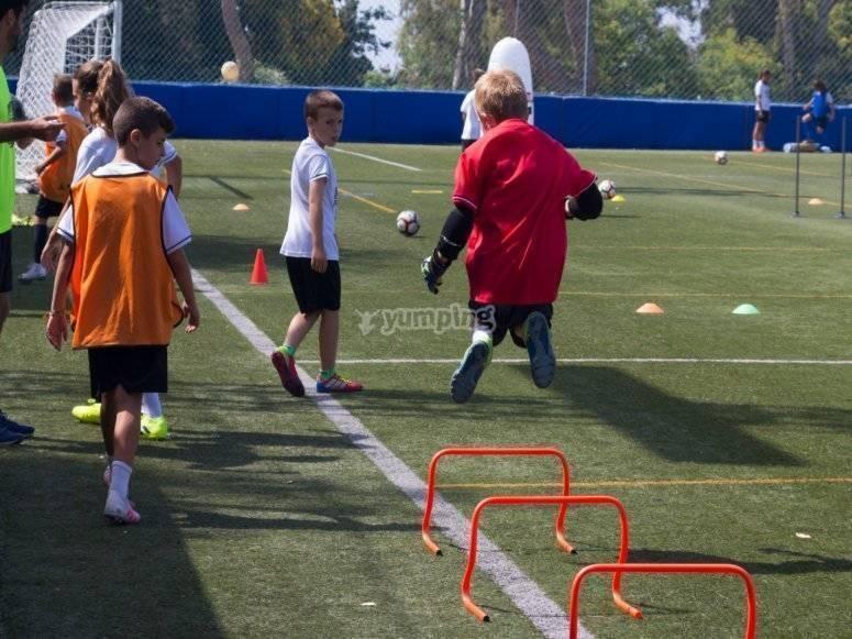 Esercizi focalizzati sui bambini