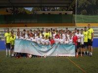 Campamento de fútbol en Marbella verano