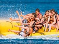 Banana boat en Chiclana de la Frontera 12 minutos