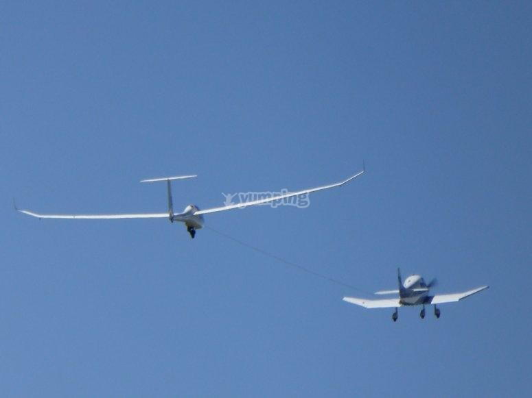 Minicurso de vuelo en planeador