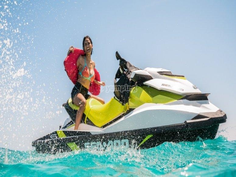 Paseo en moto de agua Provincia de Málaga