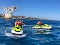 Ruta en moto de agua por la Torre del Cable 1 hora