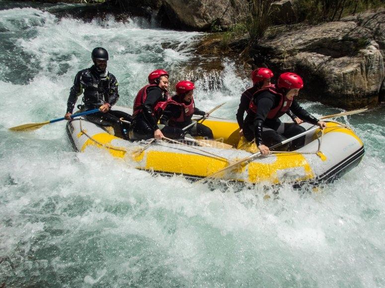 Descenso rafting río Mijares