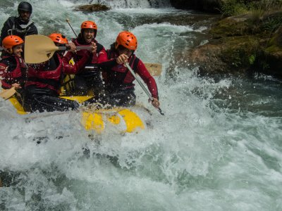 Rafting descent in Montanejos