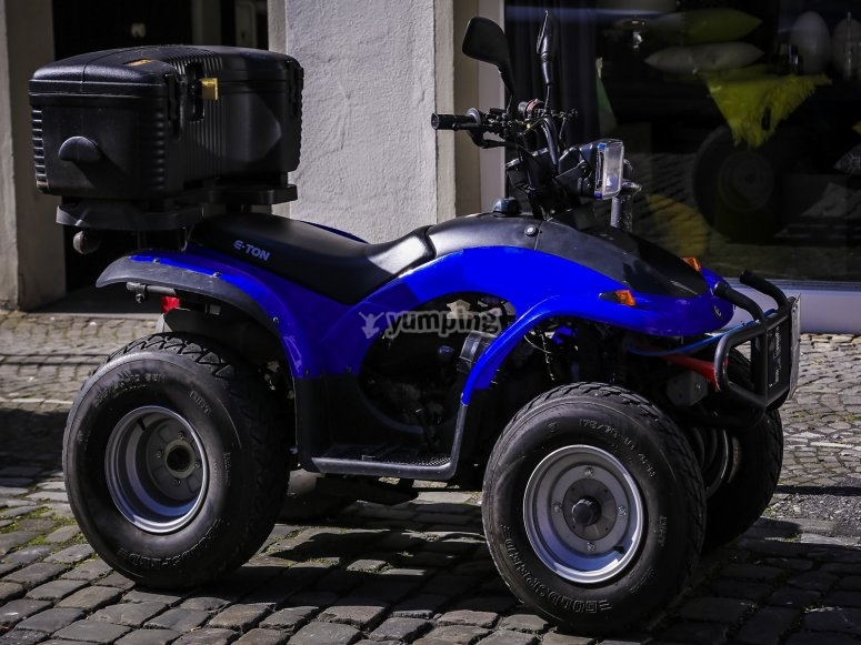 Quad 250 rental in Formentera