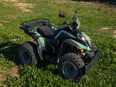 Single-seater quad tour in Torrevieja 2h 30 min