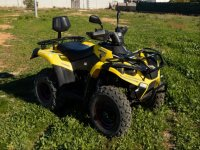 Two seater quad tour in Torrevieja