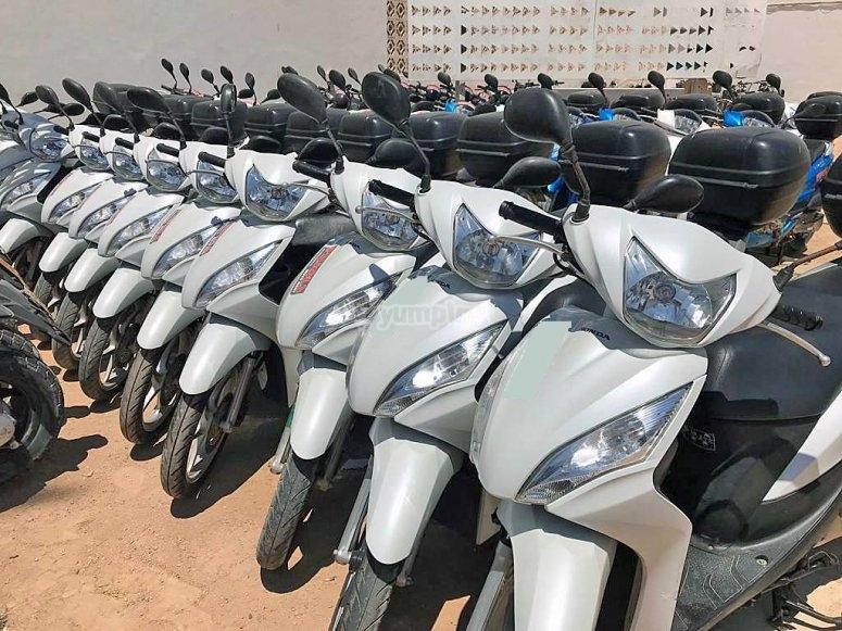 125 cc motorcycle fleet