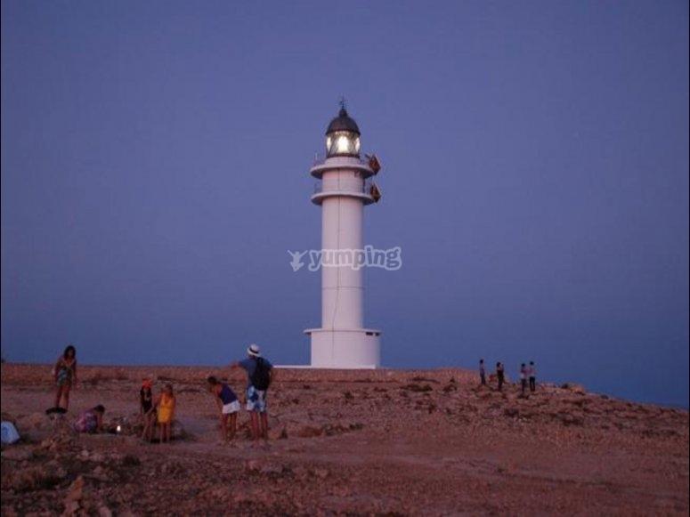 Lighthouse of Cap de Barbaria