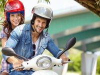 Alquiler moto 125 cc biplaza en Formentera 1 día