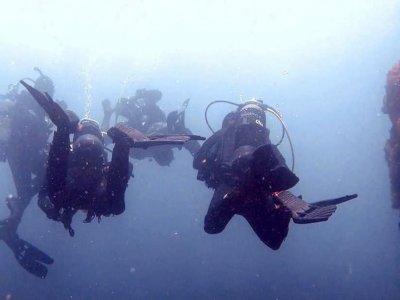 Salidas de buceo en Tarifa grupos pequeños 1h