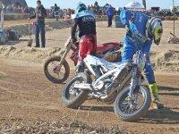 Ajustando las motos