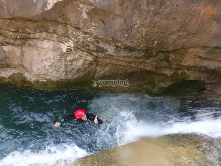 Canyoninh in Castellóm half day