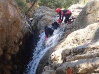 Across the waterfalls