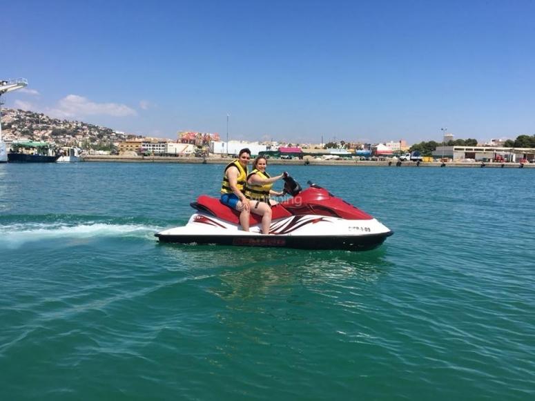 Pista per moto d'acqua per 2 a Peñíscola