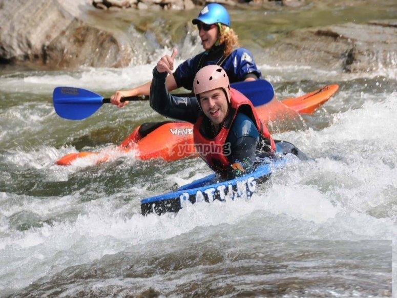 Descenso en hidrospeed río Noguera