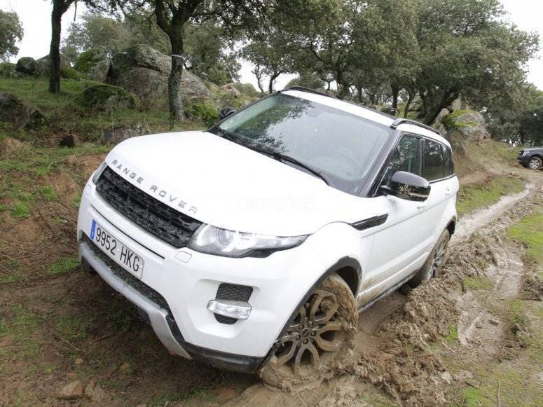 Land Rover en acción