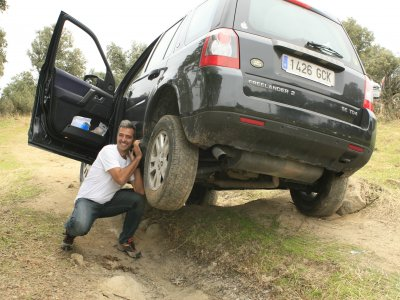 4x4 driving course and SUV route Segurilla