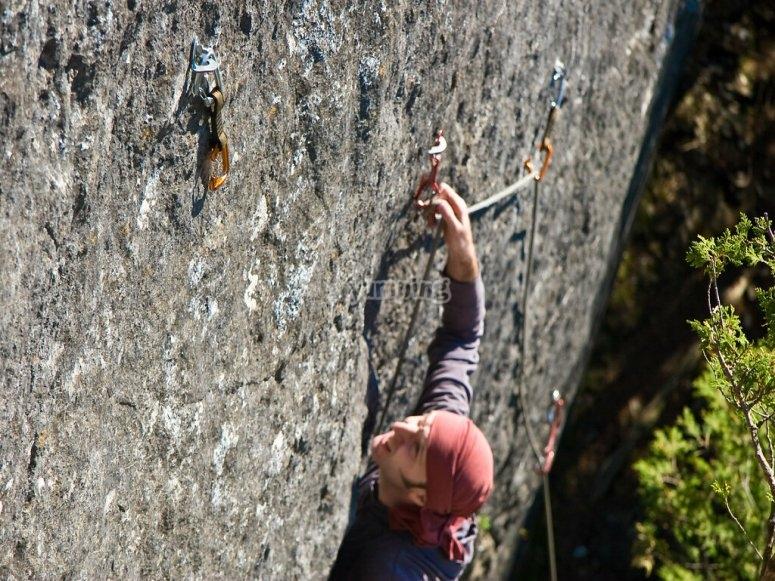 Técnicas de escalada y seguridad