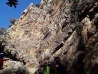 Ascendiendo por Sierra de Espiel
