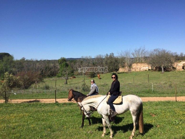 Paseo a caballo por Trassierra