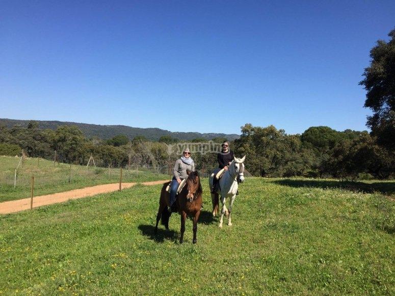 Recorrido a caballo en Córdoba