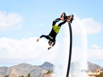 Cable Ski Flyboard and Meal Ángeles de San Rafael