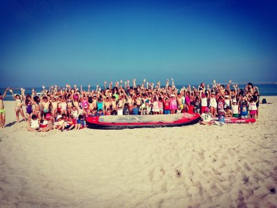Nautical camp surf and SUP Oleiros 1 week