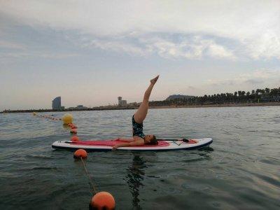 在El Garraf划船冲浪游览2小时