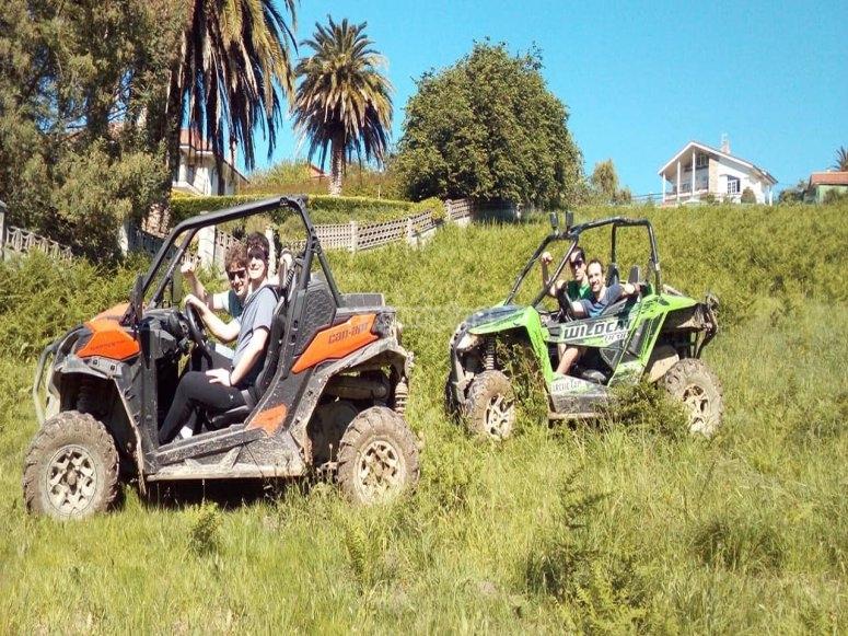 Salidas en pareja buggy Gijón