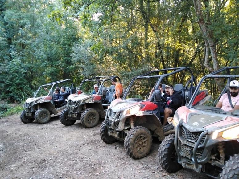 Excursión offroad por finca en Careñes