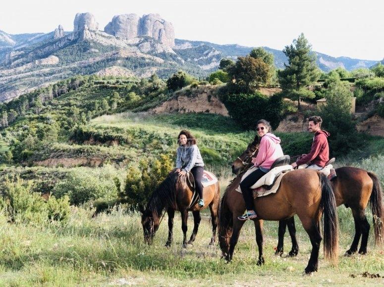 Horta de Sant Joan骑马