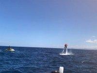 Flyboard en la costa de Gijón vuelo de 15 minutos
