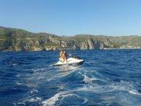 喷气滑雪租赁15分钟巴塞罗那港
