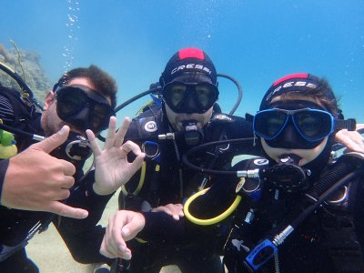 Scuba diving baptism in Platja d'Aro 2 hours