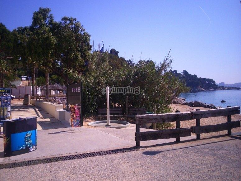 Escuela de buceo en Cala Gogo