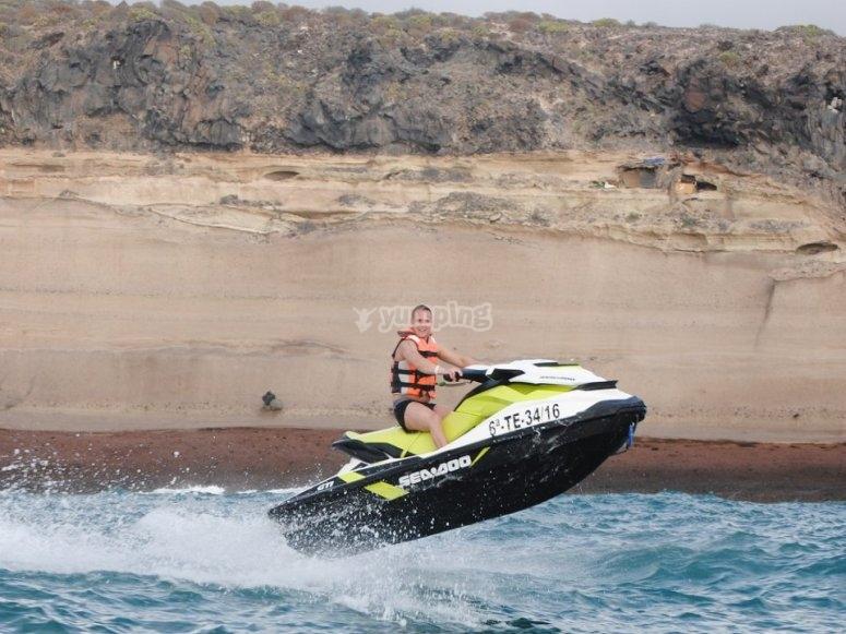 La mejor ruta en moto de agua