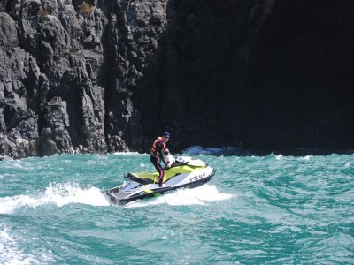 Jet ski route and photos south of Tenerife 40 min