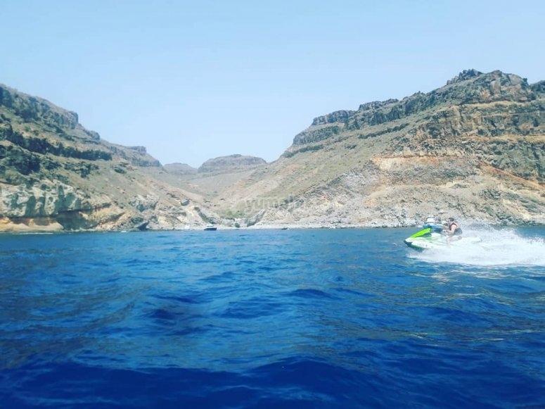 Excursión en moto de agua biplaza