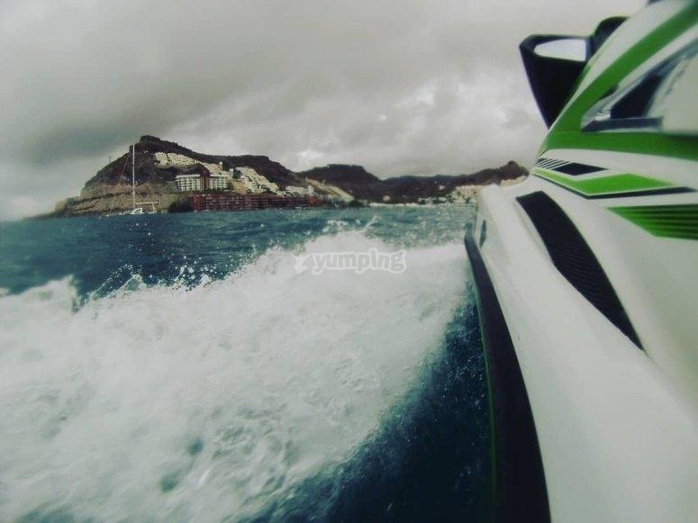 Salida en jetski 30 minutos Gran Canaria