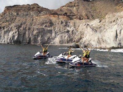 Salida en moto de agua 30 min Playa Puerto Rico