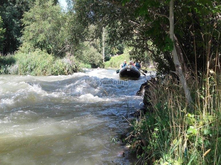 Rápidos en el río Cares