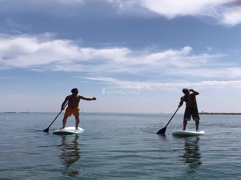 Tablas de paddle surf en Dénia