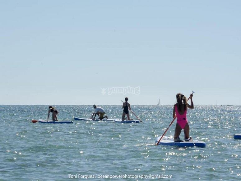 Salidas de paddle surf en Dénia