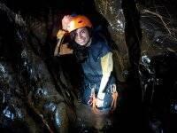 Barranquismo en la Cueva de Pruneda