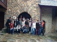 group of walkers in Leon