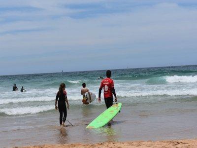 Clase privada de surf 10 horas en Dénia