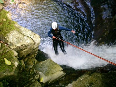 Canyoning Aján in Vegas de Pas Medium Level